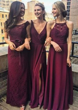 50 Amazing bridesmaid dresses for a country wedding 40