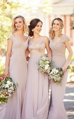 50 Amazing bridesmaid dresses for a country wedding 5
