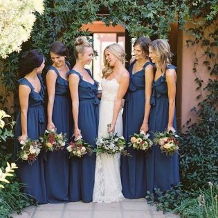50 Amazing bridesmaid dresses for a country wedding 50