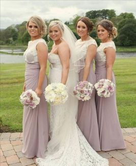 50 Amazing bridesmaid dresses for a country wedding 52