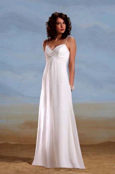 50 simple and sexy wedding dresses for the beach 10