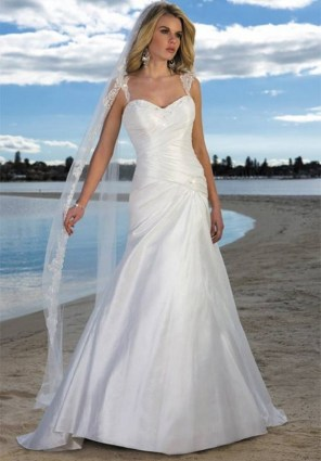 50 simple and sexy wedding dresses for the beach 21