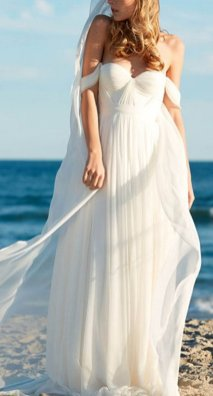 50 simple and sexy wedding dresses for the beach 36