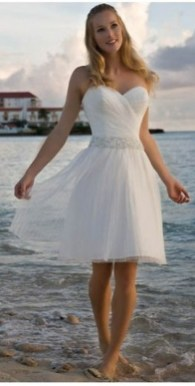 50 simple and sexy wedding dresses for the beach 41