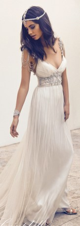 50 simple and sexy wedding dresses for the beach 49