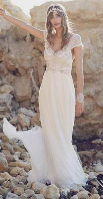 50 simple and sexy wedding dresses for the beach 8