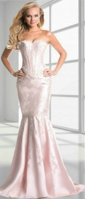 60 Trends About Simple Sweet Heart Mermaid Sexy Long Bridesmaid Dress 24