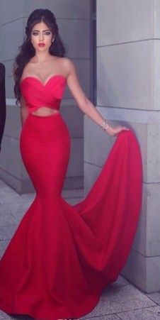 60 Trends About Simple Sweet Heart Mermaid Sexy Long Bridesmaid Dress 9