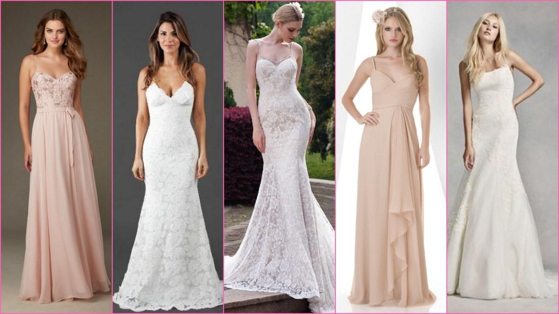 80 Spaghetti Strap Wedding Day Dresses Gowns ideas