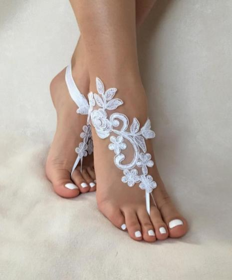Beach Wedding Shoes and Sandals ideas 1