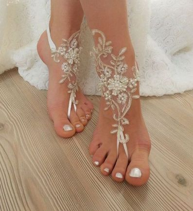 Beach Wedding Shoes and Sandals ideas 12