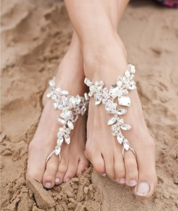 Beach Wedding Shoes and Sandals ideas 13