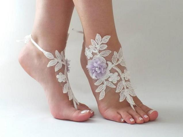 Beach Wedding Shoes and Sandals ideas 16