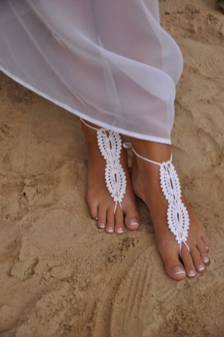 Beach Wedding Shoes and Sandals ideas 17