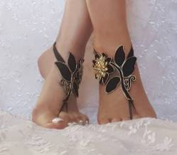 Beach Wedding Shoes and Sandals ideas 20