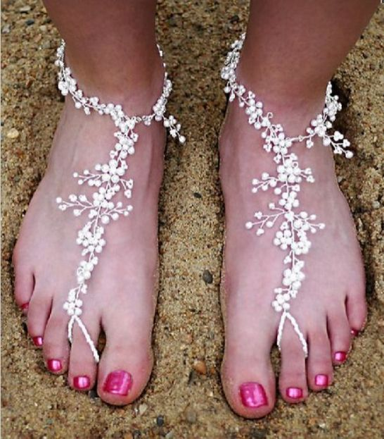 Beach Wedding Shoes and Sandals ideas 7