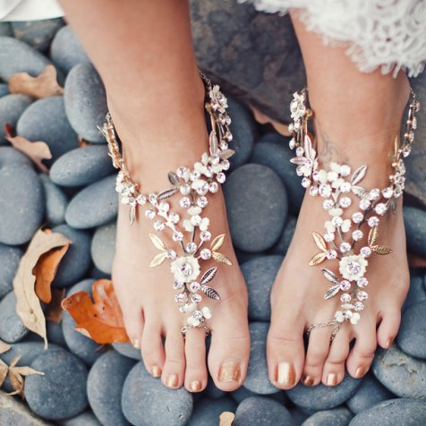 Beach Wedding Shoes and Sandals ideas 9