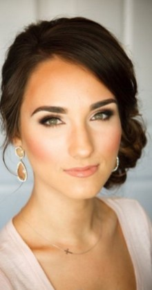 Bridal Makeup When Wedding in the Daytime 13