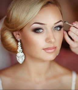 Bridal Makeup When Wedding in the Daytime 16
