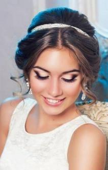 Bridal Makeup When Wedding in the Daytime 28