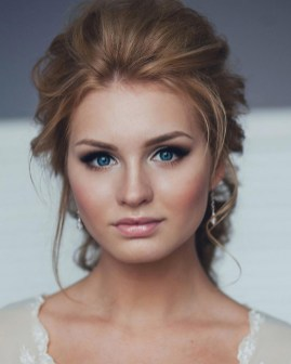 Bridal Makeup When Wedding in the Daytime 31