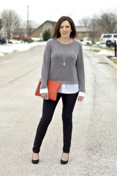 Business Winter Work Outfits for Women ideas 15