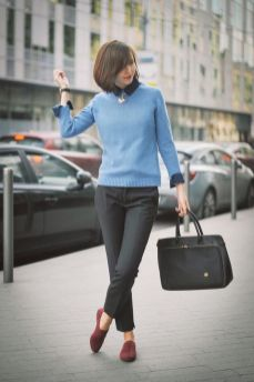 Business Winter Work Outfits for Women ideas 28