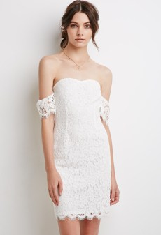 Classy evening shoulder lace dress for all special events 26
