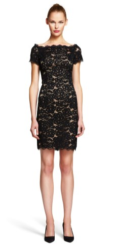 Classy evening shoulder lace dress for all special events 48