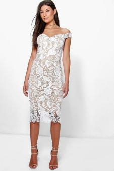 Classy evening shoulder lace dress for all special events 52