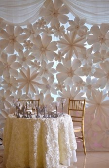 Creative And Fun Wedding day Reception Backdrops You Like Ideas 14