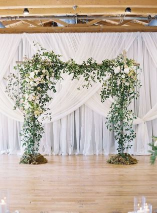 Creative And Fun Wedding day Reception Backdrops You Like Ideas 2