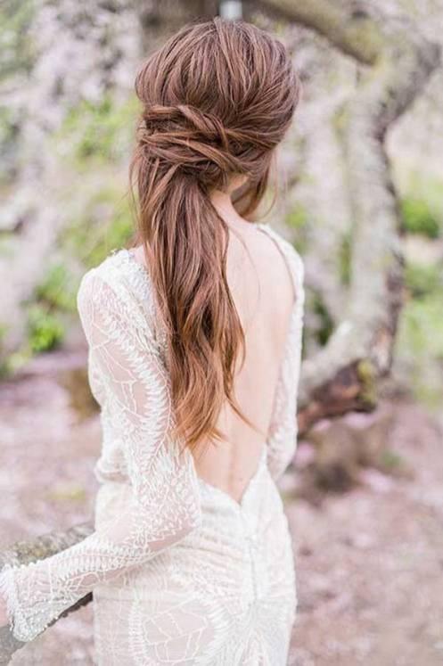 Easy DIY Wedding Day Hair Ideas 12