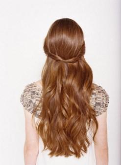 Easy DIY Wedding Day Hair Ideas 27