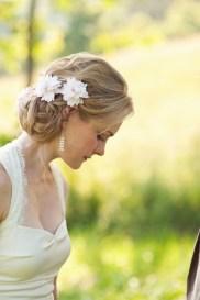 Easy DIY Wedding Day Hair Ideas 3