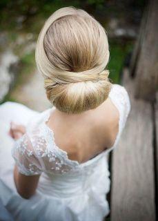 Easy DIY Wedding Day Hair Ideas 42