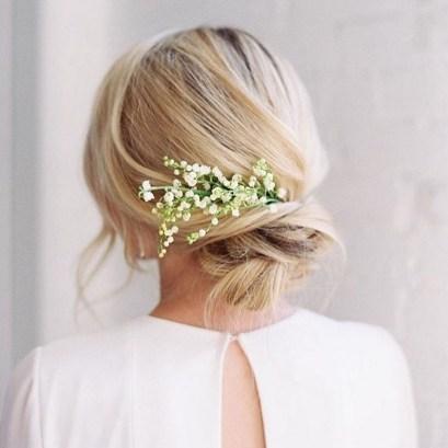 Easy DIY Wedding Day Hair Ideas 44