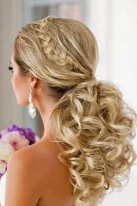 Easy DIY Wedding Day Hair Ideas 46