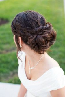 Easy DIY Wedding Day Hair Ideas 48