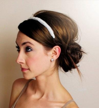 Easy DIY Wedding Day Hair Ideas 7