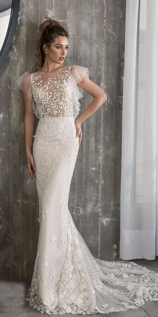 Embellished Wedding Gowns Ideas 1