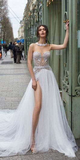 Embellished Wedding Gowns Ideas 12