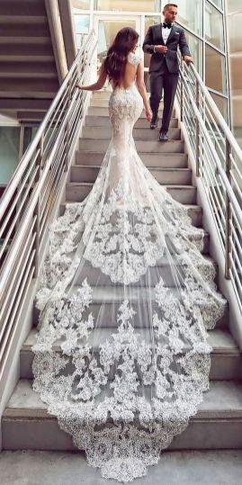 Embellished Wedding Gowns Ideas 16