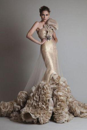 Embellished Wedding Gowns Ideas 2