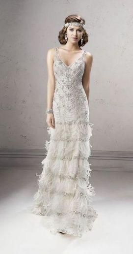 Embellished Wedding Gowns Ideas 23