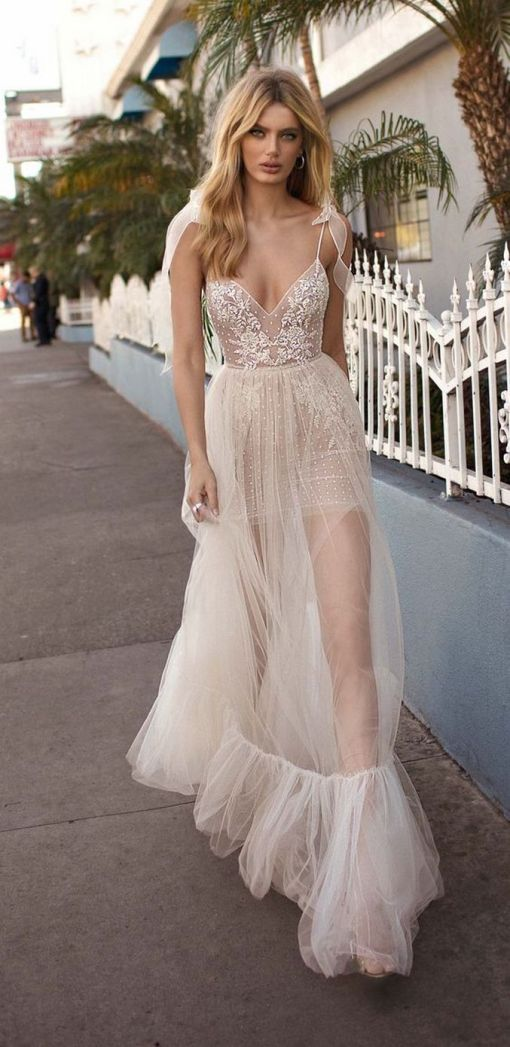 Embellished Wedding Gowns Ideas 26