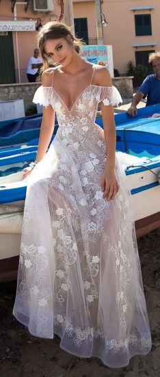 Embellished Wedding Gowns Ideas 30