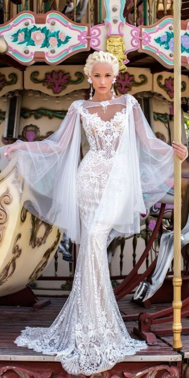 Embellished Wedding Gowns Ideas 34