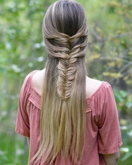 Fishtail Hairstyles for all situations 2