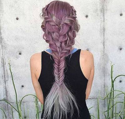 Fishtail Hairstyles for all situations 22